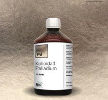 Kolloidalt Palladium – 500ml / 10ppm