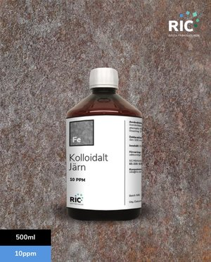 Kolloidalt Järn – 500ml / 10ppm