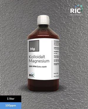 Kolloidalt Magnesium – 1 liter / 100ppm