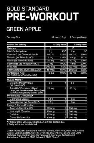 Optimum Nutrition Pre-Workout