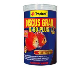 TROPICAL DISCUS D-50 PLUS GRANULAT 1000M L / 550G