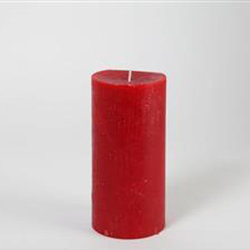 Blockljus 9*18 (Röd)