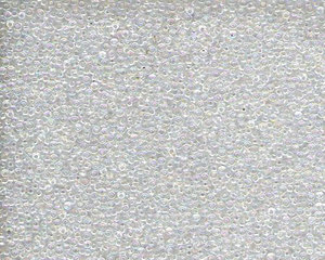 Miyuki seedbead 15/0, Crystal AB, 250. 5 gram