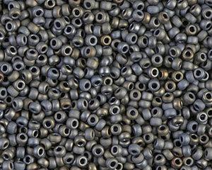 Miyuki seedbead 15/0, Metallic Silver Grey, 2002. 5 gram