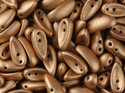 Chilli™ bead 4*11 mm. Aztec Gold, 00030/01710. 20-pack.