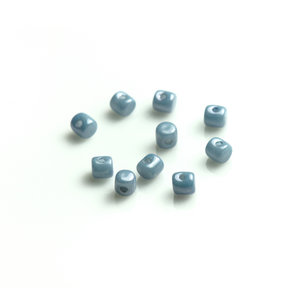 Minos® par Puca®, 2,5*3 mm. Opaque Blue Ceramic, 03000/14464. 5 gram.
