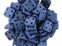 Czech Mate® QuadraTile, Metallic Suede Blue, 79031MJT. 5 gram.