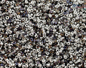 Miyuki seedbead 15/0, Crystal Bermuda Blue, 55012. 5 gram
