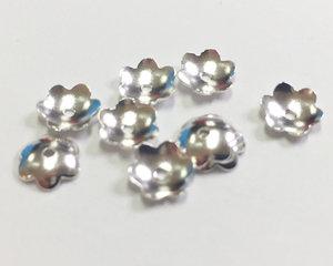 Pärlhatt i sterling silver, 6,5 mm. 10 st.