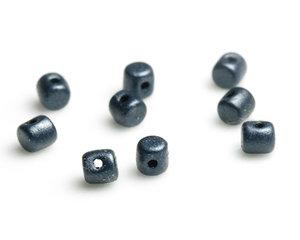 Minos® par Puca®, 2,5*3 mm. Metallic Mat Dark Blue, 23980/79032. 5 gram.