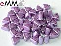 eMMA®, trekantig pärla med tre hål i färgen Pastel Lila, 25012. 5 gram