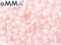 eMMA®, trekantig pärla med tre hål i färgen Pastel Rose, 29305. 5 gram