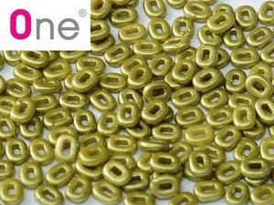 One® Bead Alabaster Pastel Lime, 02010/25021, 1,5 x 5 mm. 5 gram.