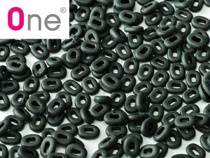 One® Bead Jet Matted, 23980/84110, 1,5 x 5 mm. 5 gram.