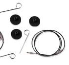 Knit Pro svarta kablar
