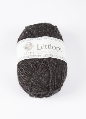 Léttlopi Black heather 10005