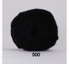 Bamboo Wool - Svart 500