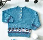 Snögubbe tröja - Esther by Permin