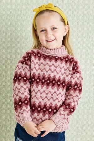 Mönstrad sweater - Luna