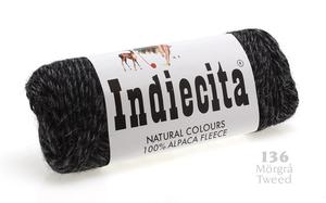 Alpacka - Grå tweed