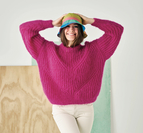 Patent sweater - Bella