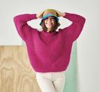 Patent sweater - Bella