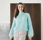 Enkel raglan tröja - Bella