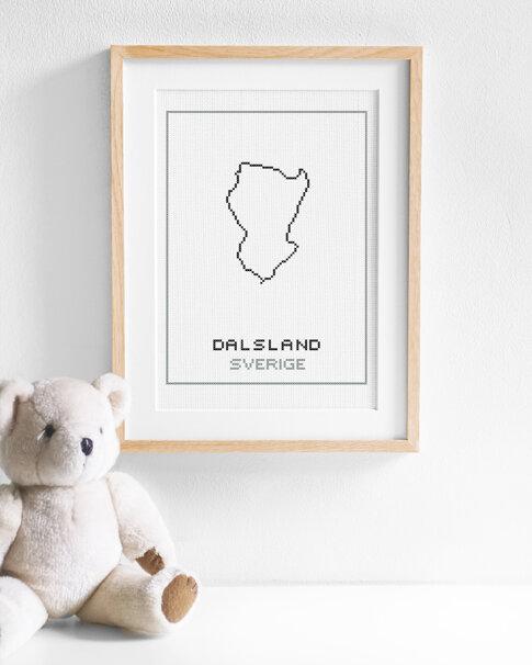 Broderikit aida – Dalsland