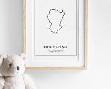 Cross stitch kit aida – Dalsland