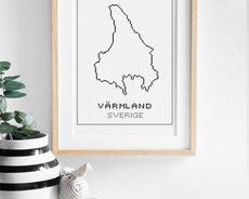 Cross stitch kit aida – Värmland