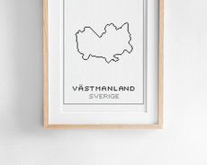 Broderikit aida – Västmanland