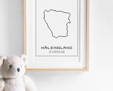 Cross stitch kit aida – Hälsingland