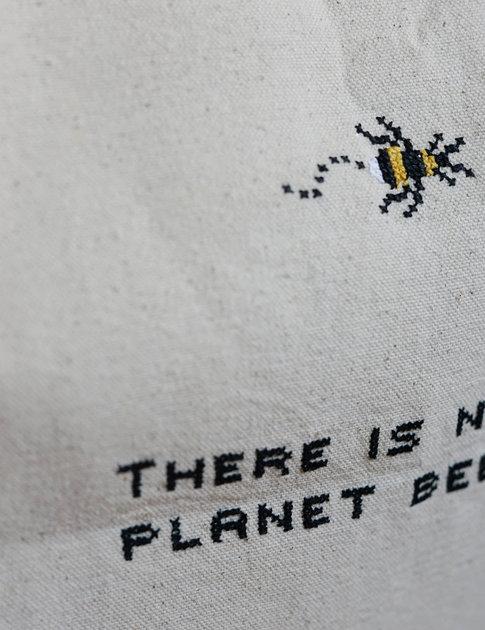 """DIY Broderikit tygväska """"Bee"""""""