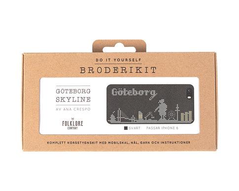 iPhone 5 cross stitch kit - Göteborg skyline