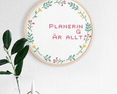Planering är allt