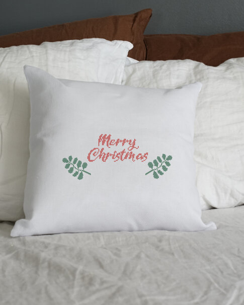 """Patch kit """"Christmas"""" for upcycling (20 in 1)"""