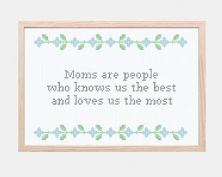 Retro flowers - Moms are...