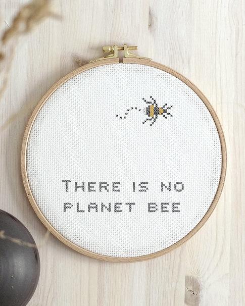 Broderikit aida - Planet Bee