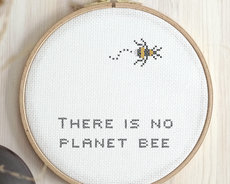 Broderikit aida - Planet Bee