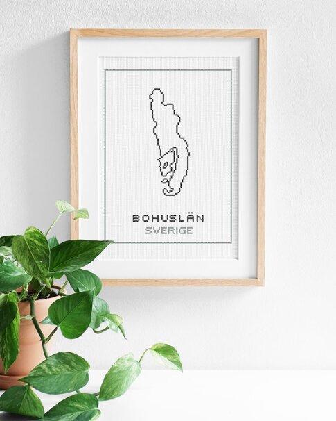 Bohuslän (Digitalt broderimönster)