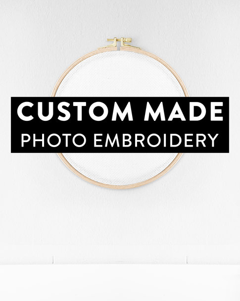 Cross stitch pattern - Custom photo