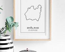 Cross stitch kit aida – Småland