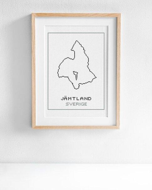 Jämtland (Digitalt broderimönster)