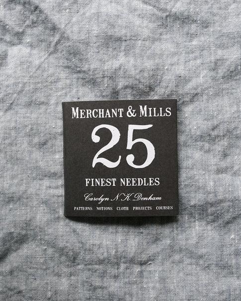 Synålar och nålpåträdare från Merchant & Mills