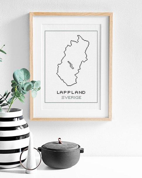 Lappland (Digital embroidery pattern)