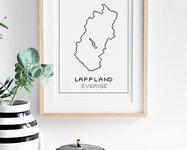 Broderikit aida – Lappland