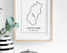 Cross stitch kit aida – Lappland