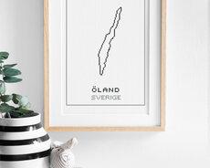 Cross stitch kit aida – Öland