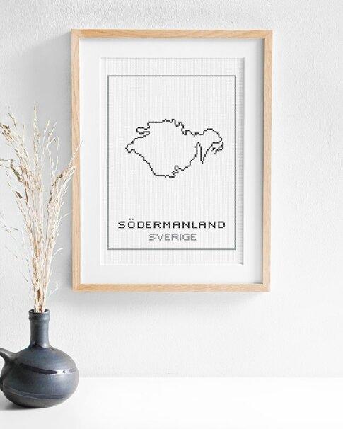 Södermanland (Digital embroidery pattern)