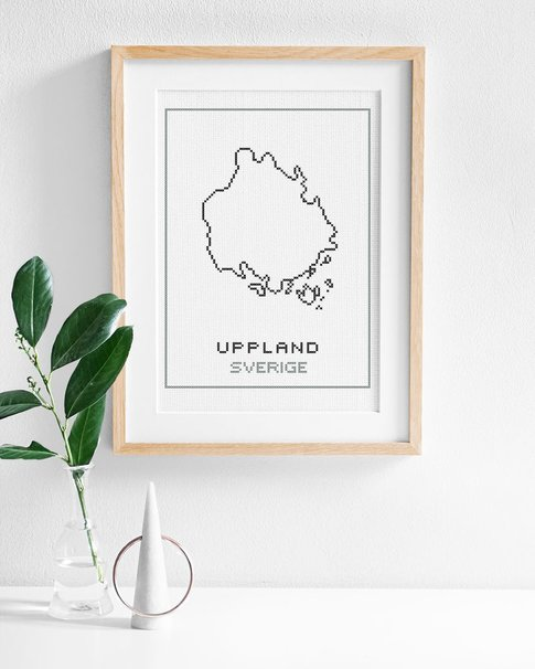 Uppland (Digital embroidery pattern)